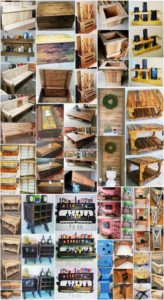 Inexpensive DIY Shipping Pallet Creations for Home