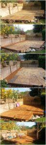 Pallet Garden Terrace