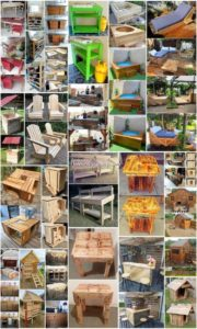 Impressive Ideas with Shipping Wood Pallets
