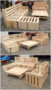 Pallet Outdoor Furnitue
