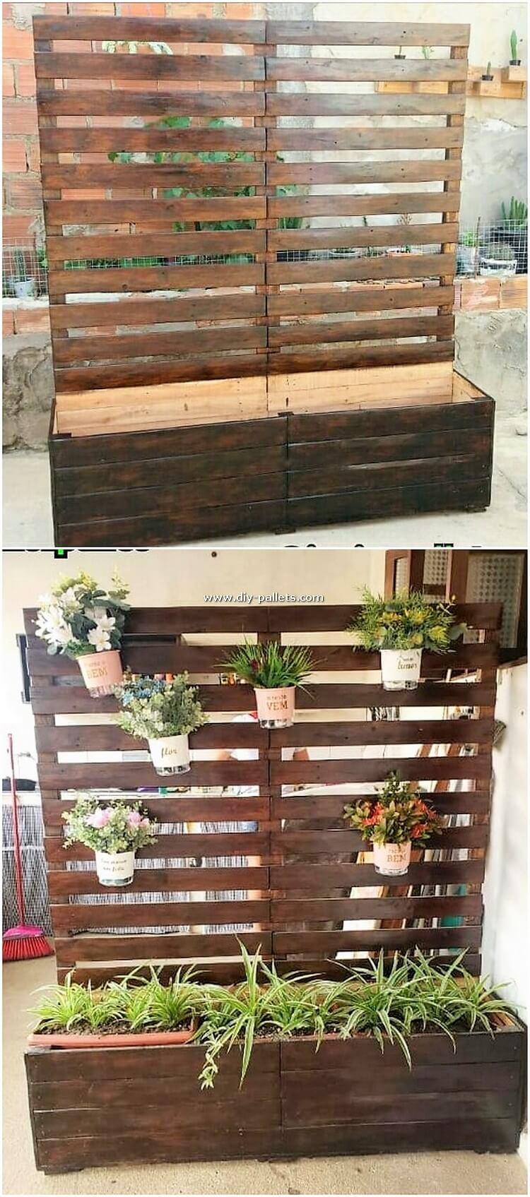 Pallet Planter