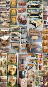Remarkable DIY Creations Made with Shipping Pallets