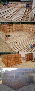 DIY Pallet Terrace