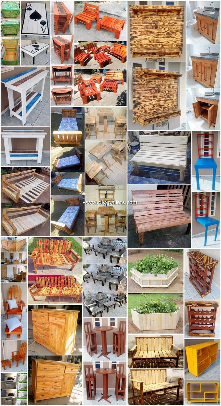 Some Best Examples of Wood Pallet Recycling