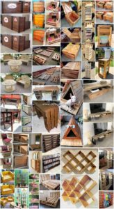 Genius Wood Scraped Pallets Recycling Projects
