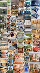 Charming Ideas Made Out of Shipping Pallets