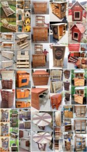 Low Budget Wood Shipping Pallets DIY Projects