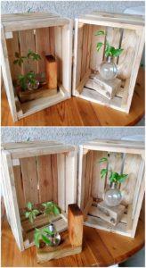 Pallet Wood Home Decor Idea