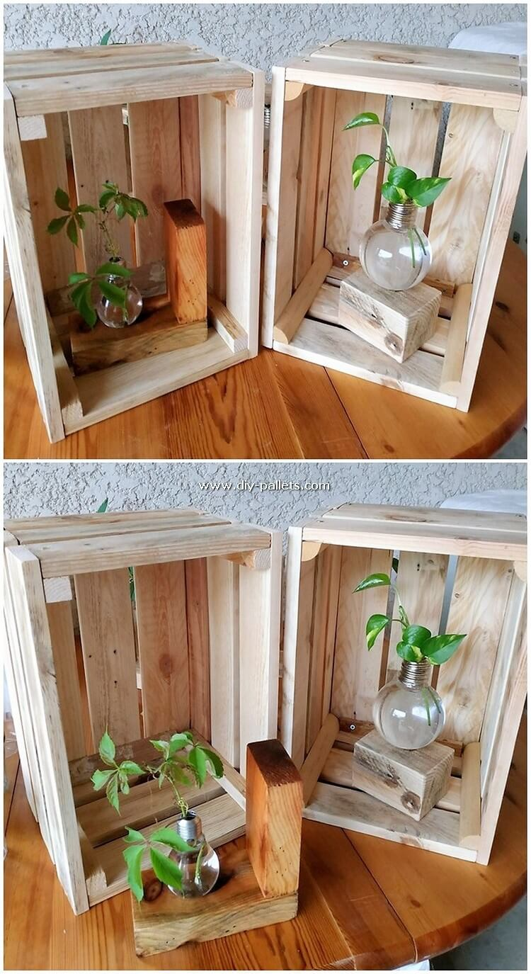 Pallet Wood Home Decor Idea