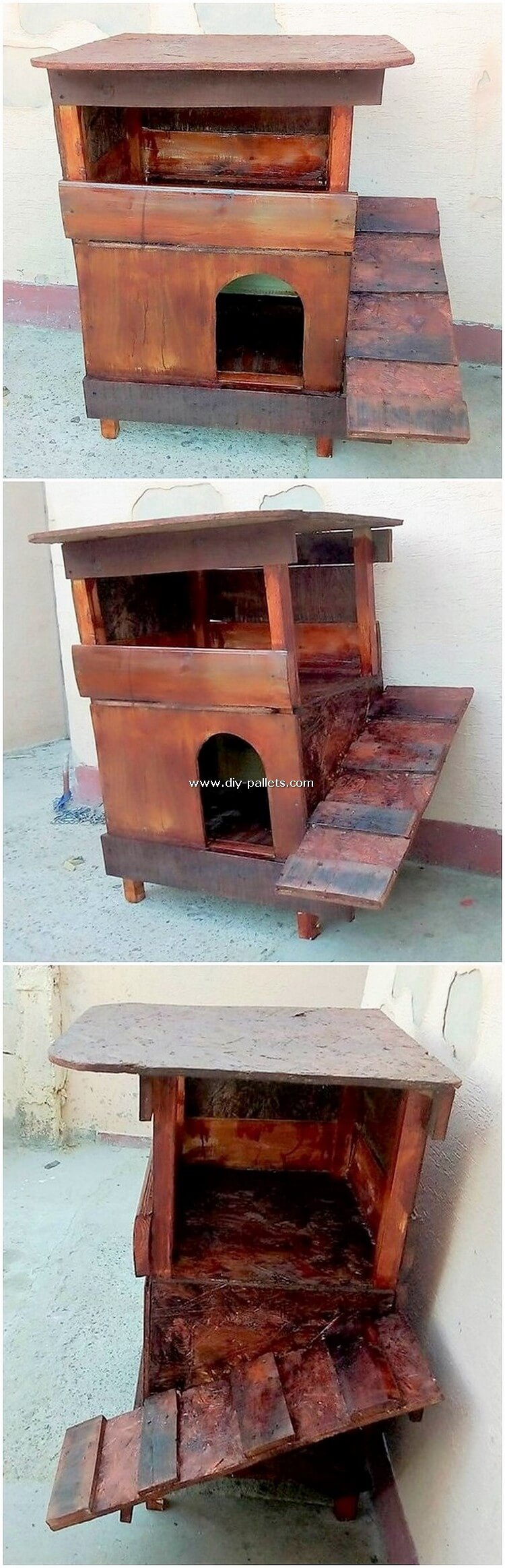 Wood Pallet Pet House